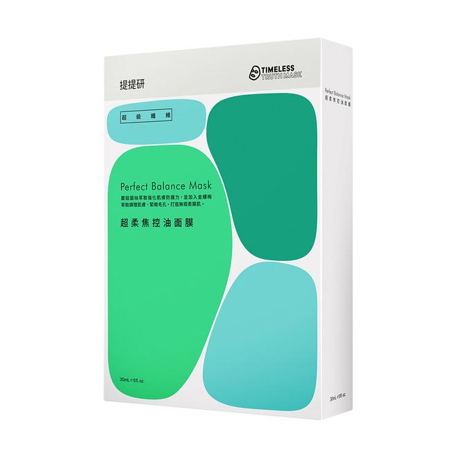 提提研 超柔焦控油面膜(30ml x 5入)