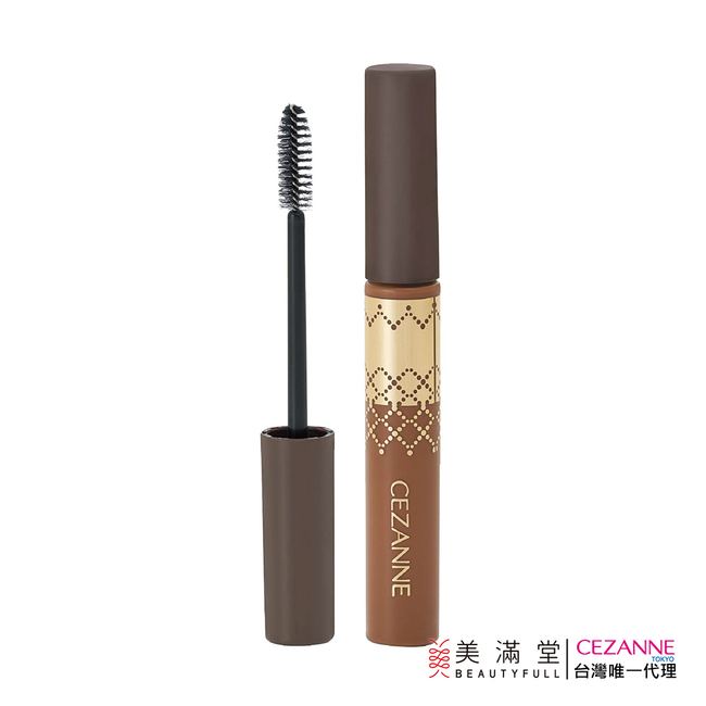 CEZANNE 高發色染眉膏 - 自然棕